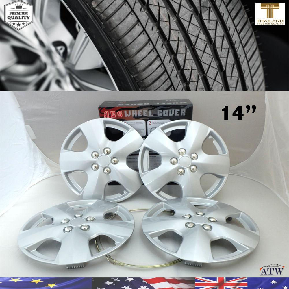 Silver-14-Inch-ABS-Wheel-Skin-Rim-Cover-Wheel-Hub-Cap-For-OEM-Steel-Wheel