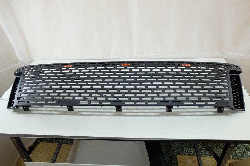2011 15 ford ranger t6 raptor black grille grill xlt px. Black Bedroom Furniture Sets. Home Design Ideas