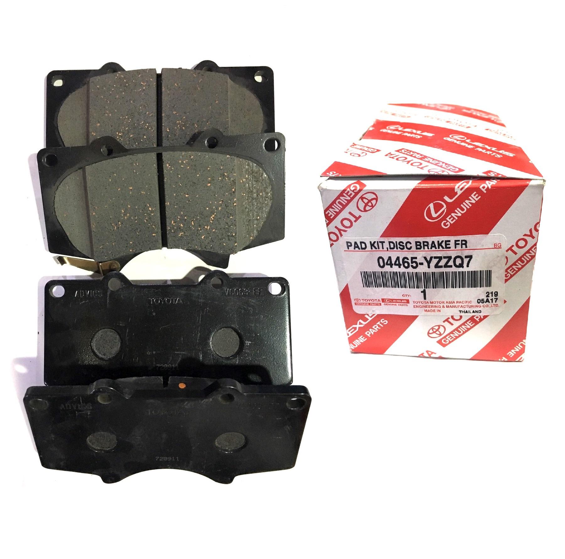 Toyota Brake Pads >> Genuine Oem Front Disc Brake Pads Kit 2004 2015 Toyota Hilux Vigo